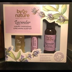 By Nature lavender sleep set